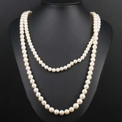 Graduated Strand of Pearls