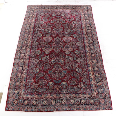 10'2 x 16'5 Hand-Knotted Persian Tabriz Room Sized Wool Rug