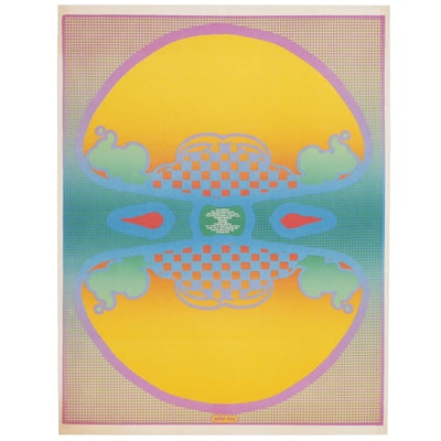 Peter Max Lithographic Poster for The Contemporaries Gallery, circa 1967