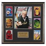 """Stan Lee Signed Marvel Comics """"Excelsior!"""" Matted and Framed Display, JSA COA"""