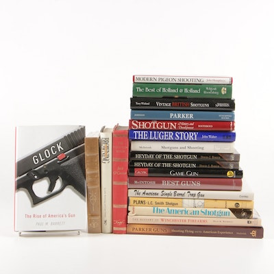 """""""Glock: The Rise of America's Gun"""" with Other Firearm Books including Signed"""