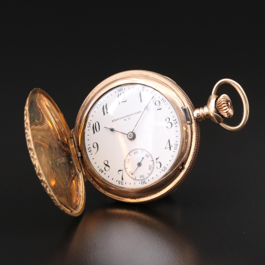 Knickerbocker N.Y. Pocket Watch By New York Standard Watch Co., 1900