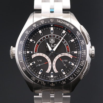 TAG Heuer SLR Calibe S Chronograph Stainless Steel Wristwatch