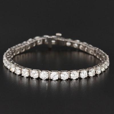 14K Gold 7.94 CTW Diamond Tennis Bracelet