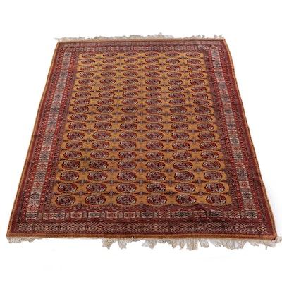 9'8 x 13'0 Hand-Knotted Turkmen Tekke Bokhara Wool Rug