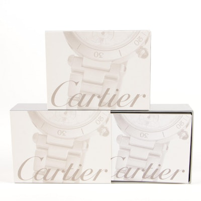 Pair of Cartier Watch Maintenance Kits for Metal Bracelets