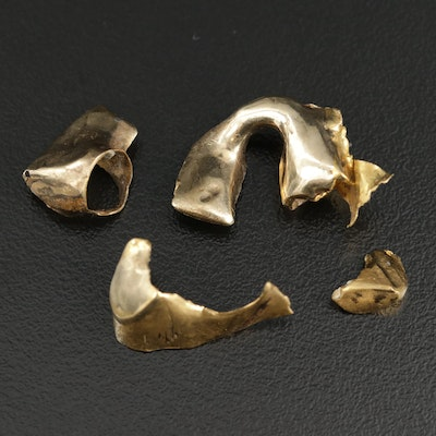 18K Yellow Gold Scrap Pieces
