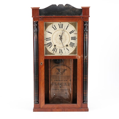 Ansonia Clock Co Empire Style Shelf Clock