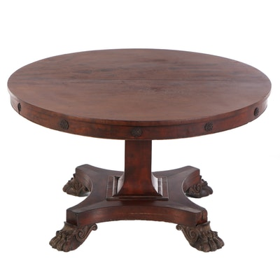 Regency Mahogany Dining Table, Circa 1830