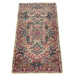 2'0 x 3'10 Hand-Knotted Persian Lavar Kerman Rug, 1920s