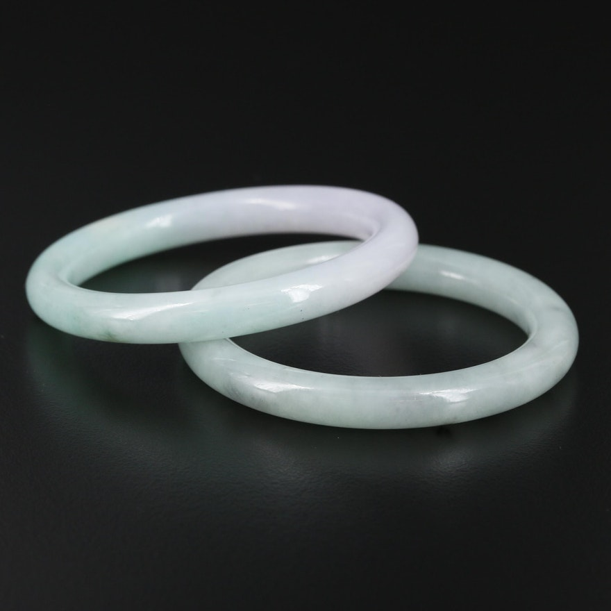 Jadeite Baby Bracelets