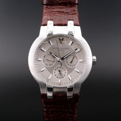 Kenneth Cole New York Stainless Steel Quartz Wristwatch