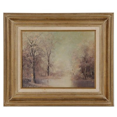 Jack Bryant, Sr Landscape Oil Painting