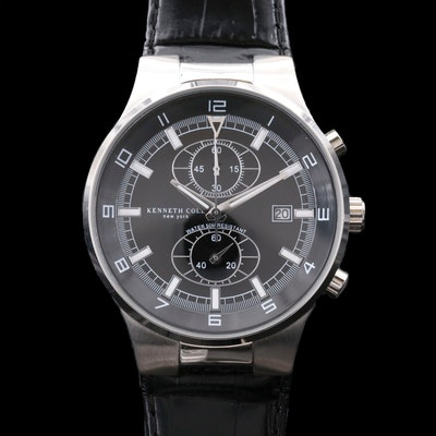 Kenneth Cole Stainless Steel Chronograph Wristwatch