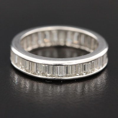 Platinum 2.37 CTW Diamond Eternity Band