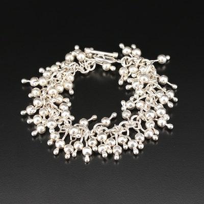 "Silpada ""Cha Cha"" Sterling Silver Fringe Bracelet"
