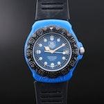 Vintage TAG Heuer Formula 1 Fiberglass Coated Stainless Steel Wristwatch