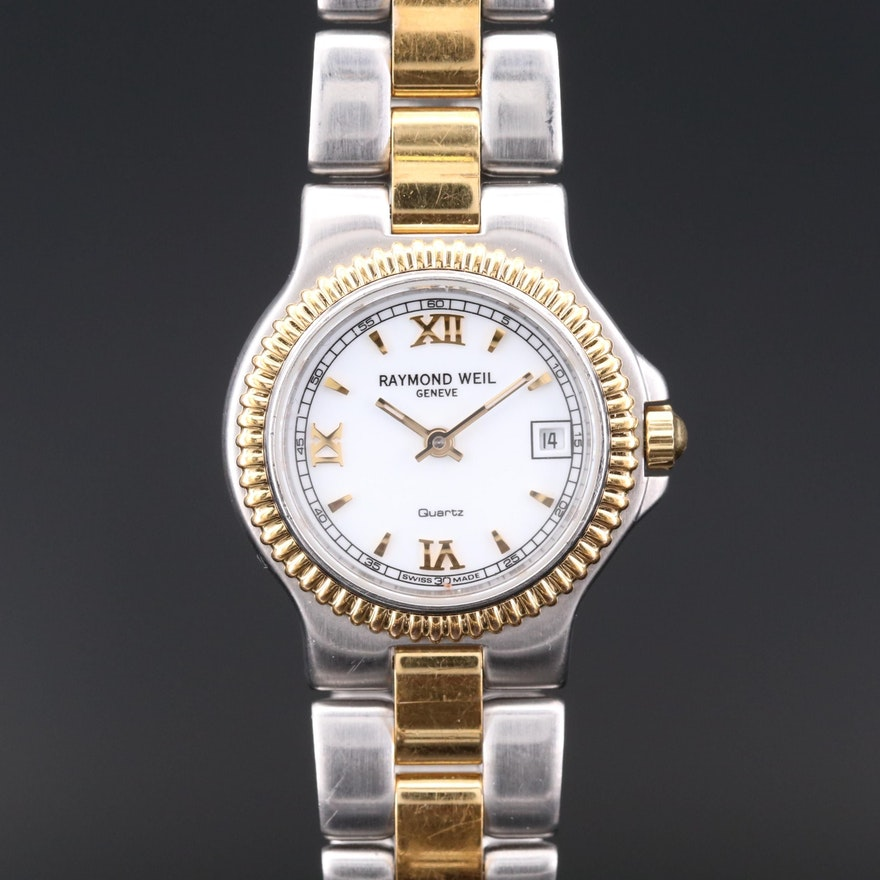Raymond Weil Tocatta Two Tone Quartz Wristwatch