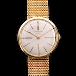 Vintage Patek Philippe Calatrava Ref. 2590 18K Gold Stem Wind Wristwatch