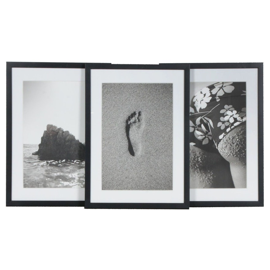 Beach Themed Silver Gelatin Photographs