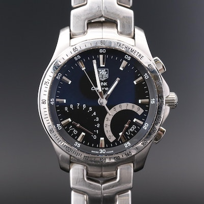 TAG Heuer Link Calibre S Stainless Steel Wristwatch