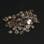 Loose 5.13 CTW Diamond Gemstones