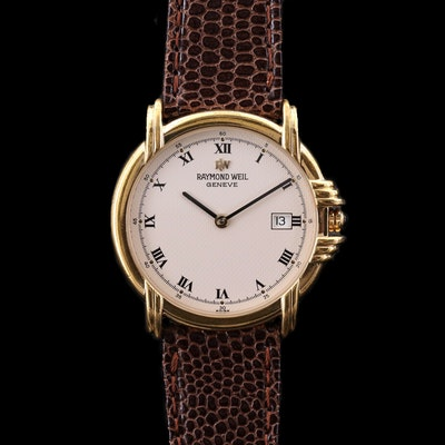 Raymond Weil Gold Tone Quartz Wristwatch