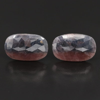 Loose 40.66 CT Oval Rose Faceted Corundum