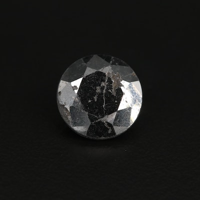 Loose Round Faceted Moissanite