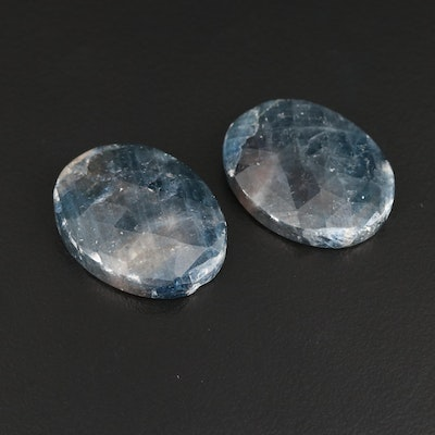 Loose 56.39 CTW Oval Corundum Gemstones
