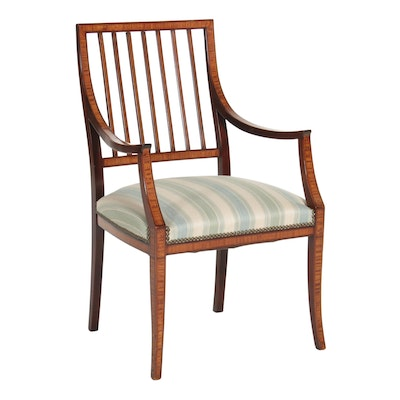 Directoire Style Mahogany Chair, Early to Mid 20th Century
