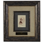 Signed Cabinet Card Photograph of Charles Lewis Tiffany of Tiffany & Co.
