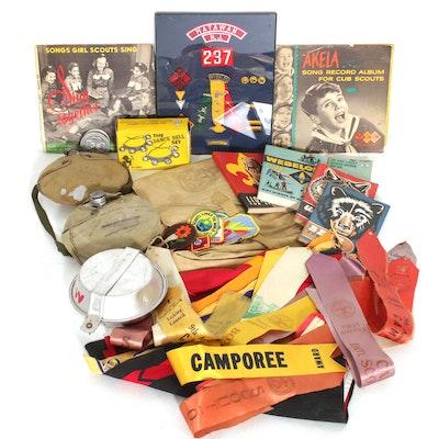 Boy Scouts and Girl Scouts of America Memorabilia, 1955-1994