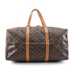 Louis Vuitton Sac Souple 55 in Monogram Canvas and Leather