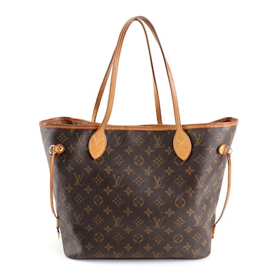 Louis Vuitton Neverfull in Monogram Canvas and Leather