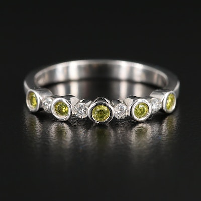 14K White Gold 0.32 CTW Diamond Ring