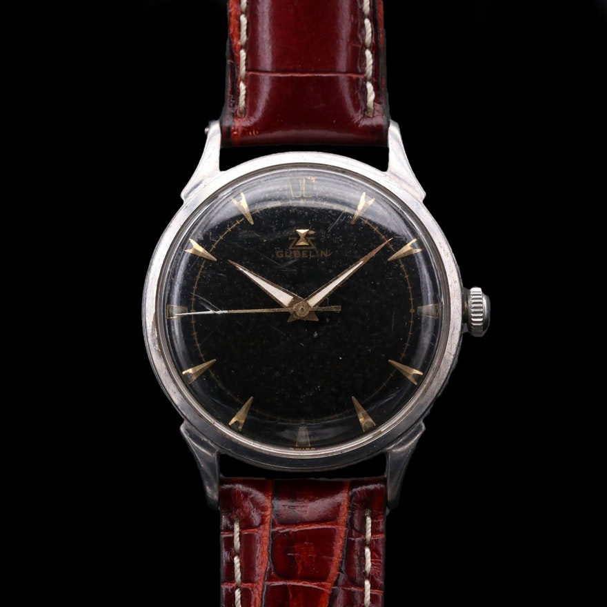 Gubelin Stainless Steel Wristwatch