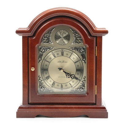 "Seth Thomas ""Sturbridge"" Mantel Clock, Late 20th Century"