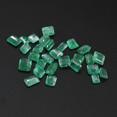 Loose 9.90 CTW Emerald Gemstones