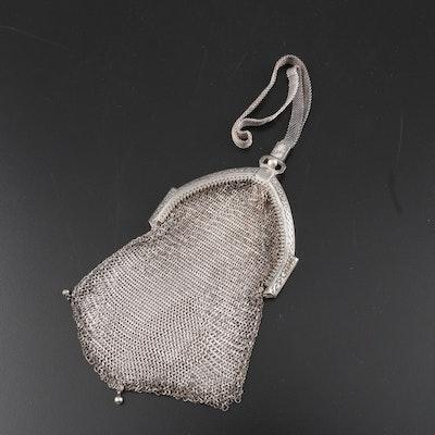 Whiting & Davis Company Mesh Bracelet Bag, Early 20th Century