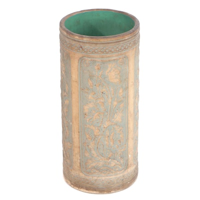 Robinson Ransbottom Molded Pottery Umbrella Stand