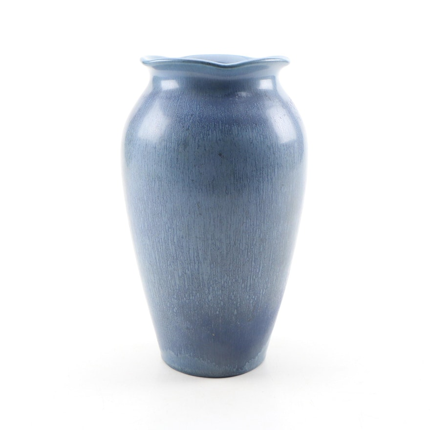 Rookwood Pottery Blue Glaze Prototype Vase, Initialed and Dated by the Modeler