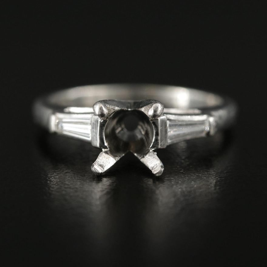 Platinum Diamond Semi-Mount