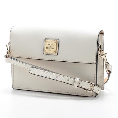 Dooney & Bourke Leather East West Flap Crossbody Bag