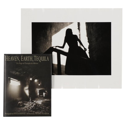 "Douglas Menuez Silver Gelatin Photograph and Book ""Heaven, Earth, Tequila"""