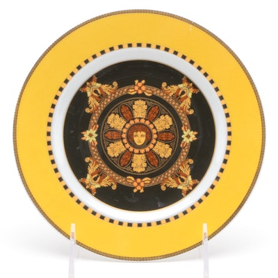 "Rosenthal for Versace ""Barocco"" Cabinet Plate"