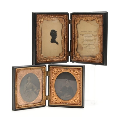 Daguerreotypes and Union Cases, Mid-19th Century