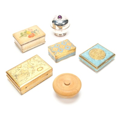 Borghese, Florentine, Sylvester and Other Decorative Boxes