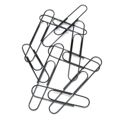 Popart Paperclip Metal Wall Sculpture