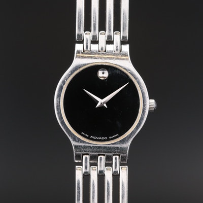 Movado Esperanza Stainless Steel Quartz Wristwatch